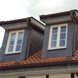 Doppelte Fenstergaube
