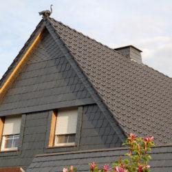 Klassisches Satteldach